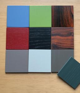 Tagliabue neue Farben auf Eiche bei Leder innen